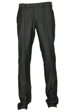 Pantaloni de stofa Piazza Italia Haller Dark Grey | Kurtmann.ro