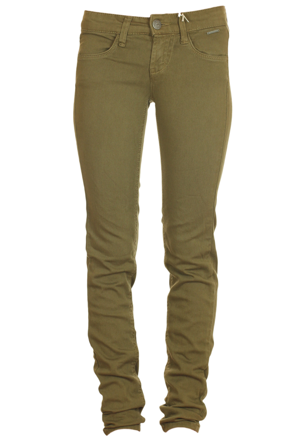 Pantaloni Stradivarius Simple Dark Green