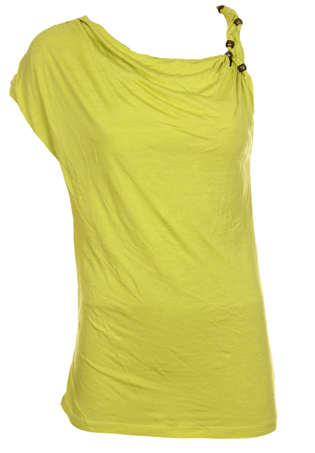 Tricou Bershka Platea Light Green
