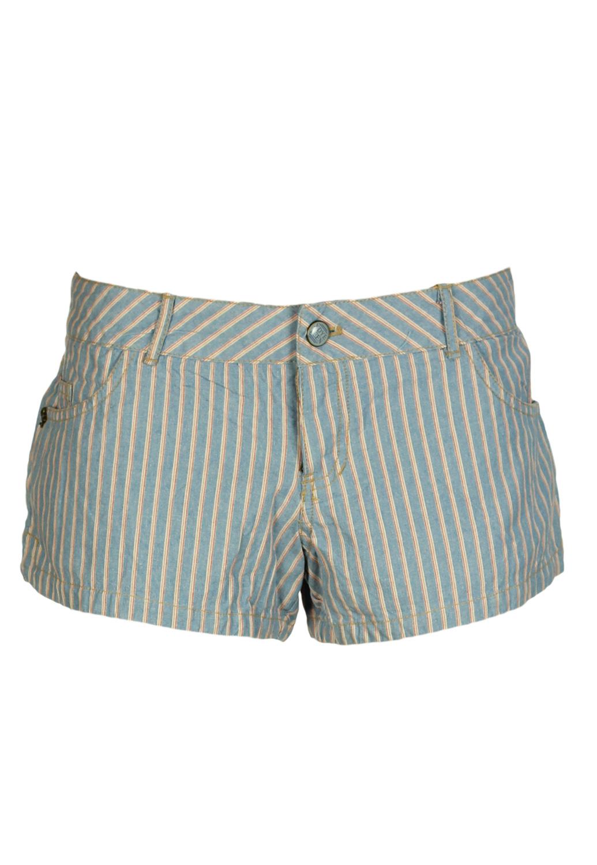 Pantaloni scurti Pull and Bear Zoe Light Blue