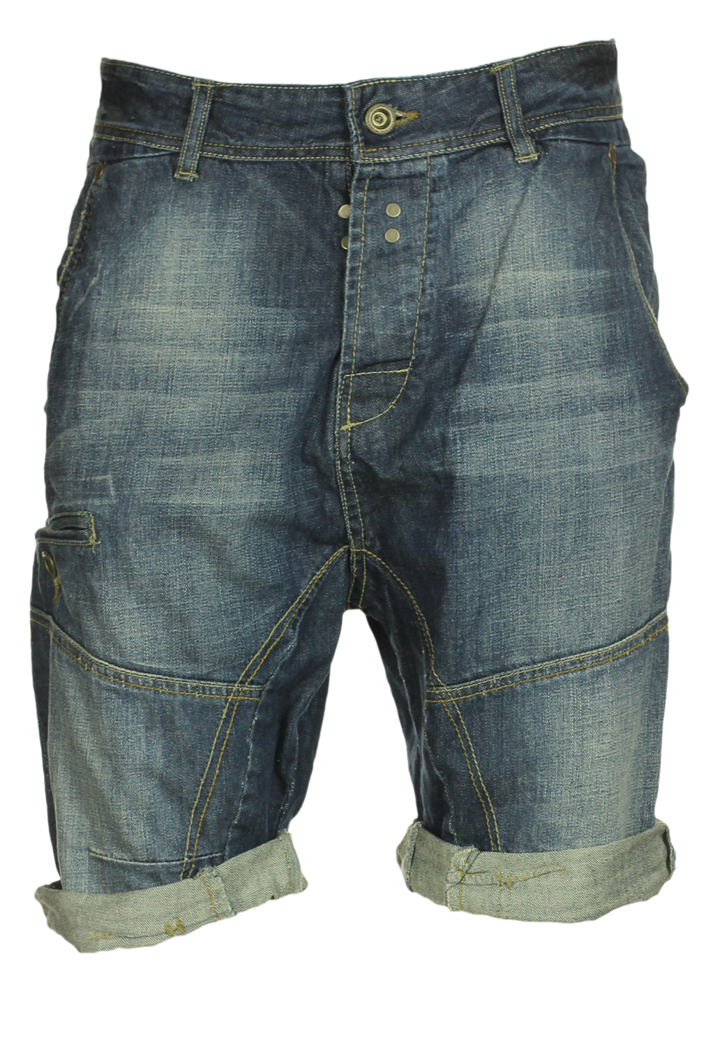 Pantaloni scurti Pull and Bear Baddo Dark Blue, preturi, ieftine