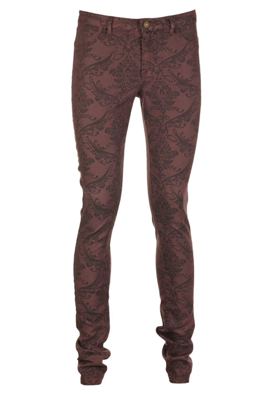 Pantaloni VILA Basic Dark Purple