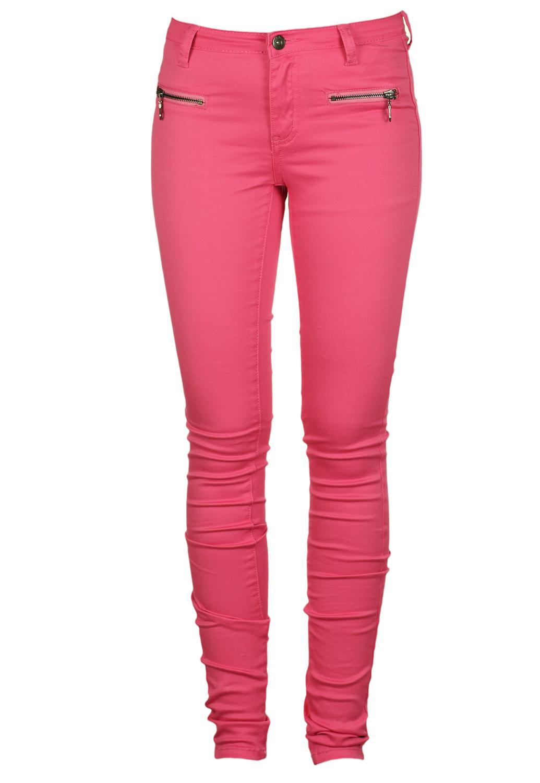 Pantaloni VILA Xerre Pink