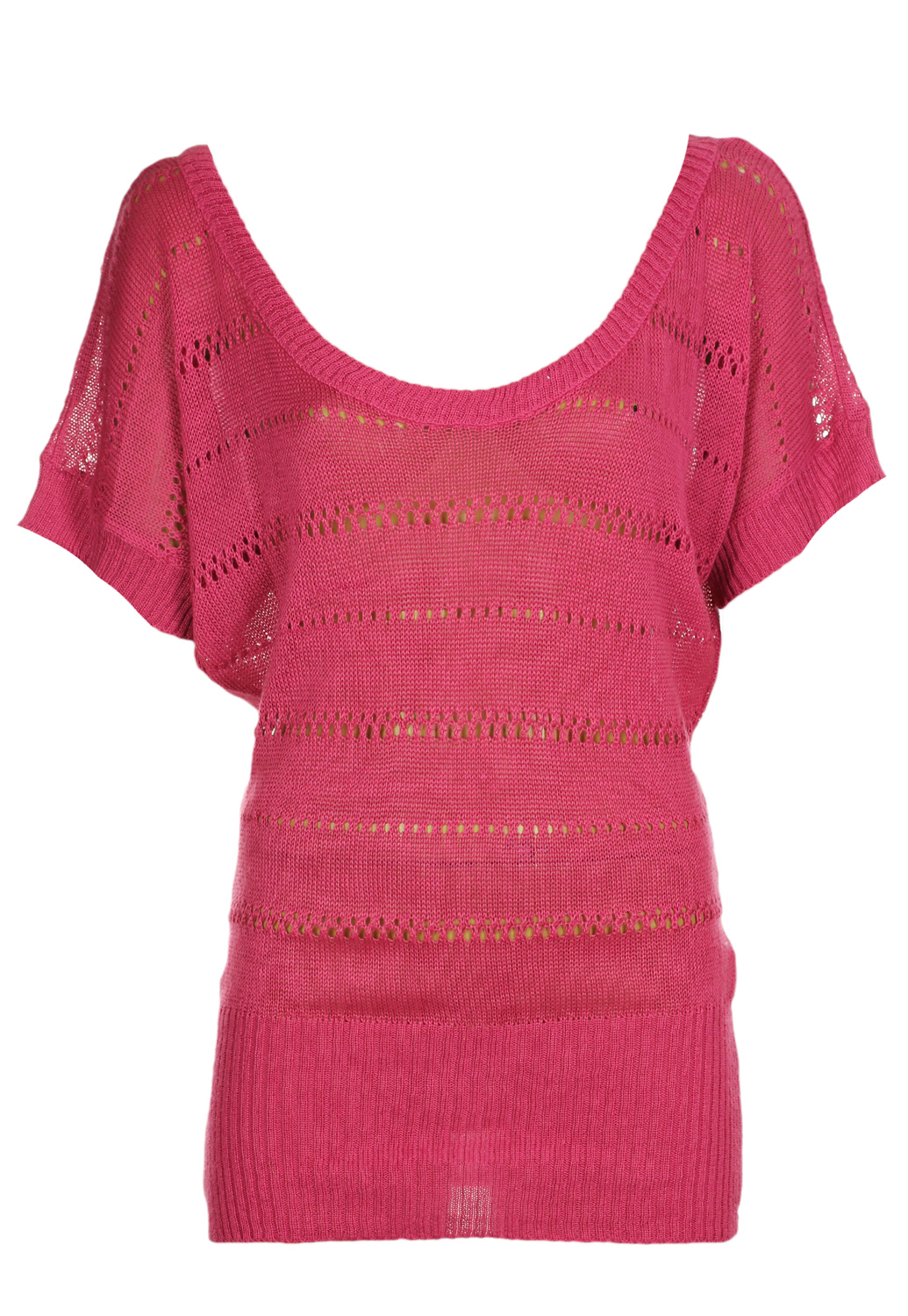 Bluza Tally Weijl Heigh Dark Pink