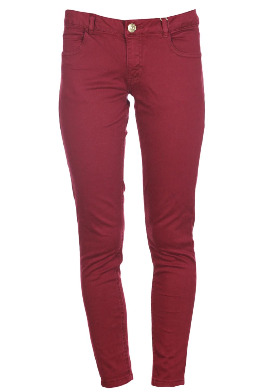 Pantaloni ZARA Kalpoe Dark Red