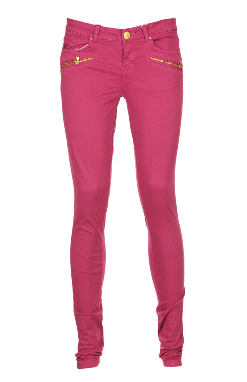 Pantaloni Bershka Ytaca Dark Pink
