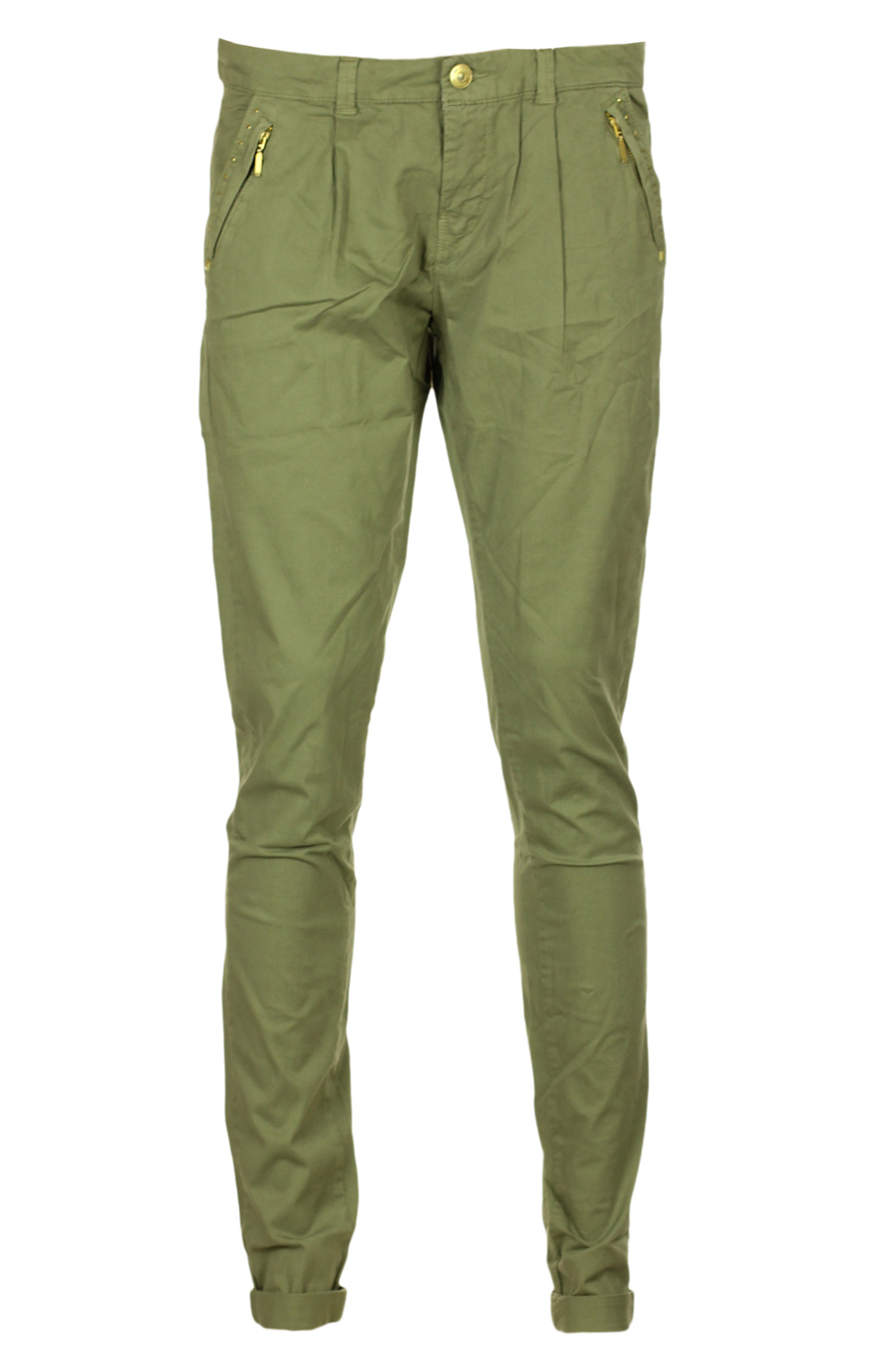 Pantaloni Bershka Ladune Light Green