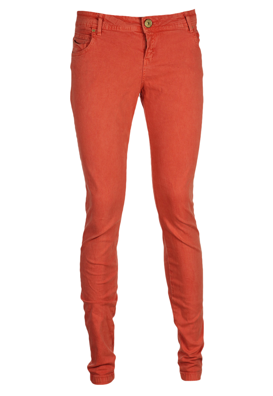 Pantaloni Pull and Bear Shiny Light Red