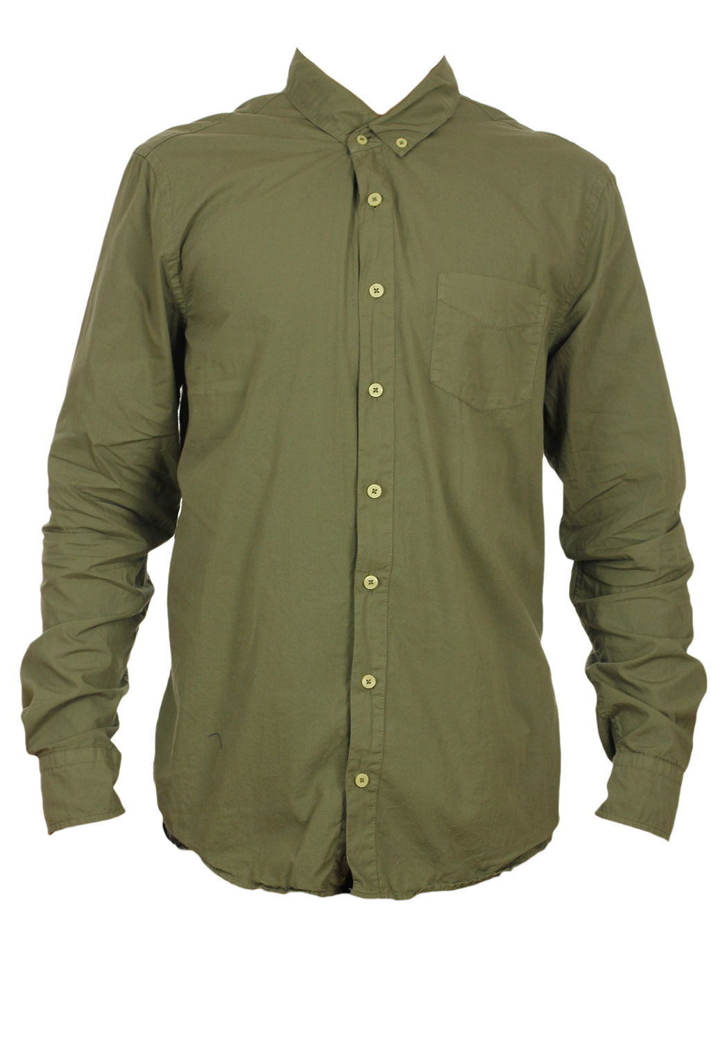 Camasa Pull and Bear Nighty Dark Green