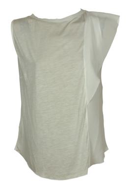 Tricou ZARA Lisle White | Kurtmann.ro