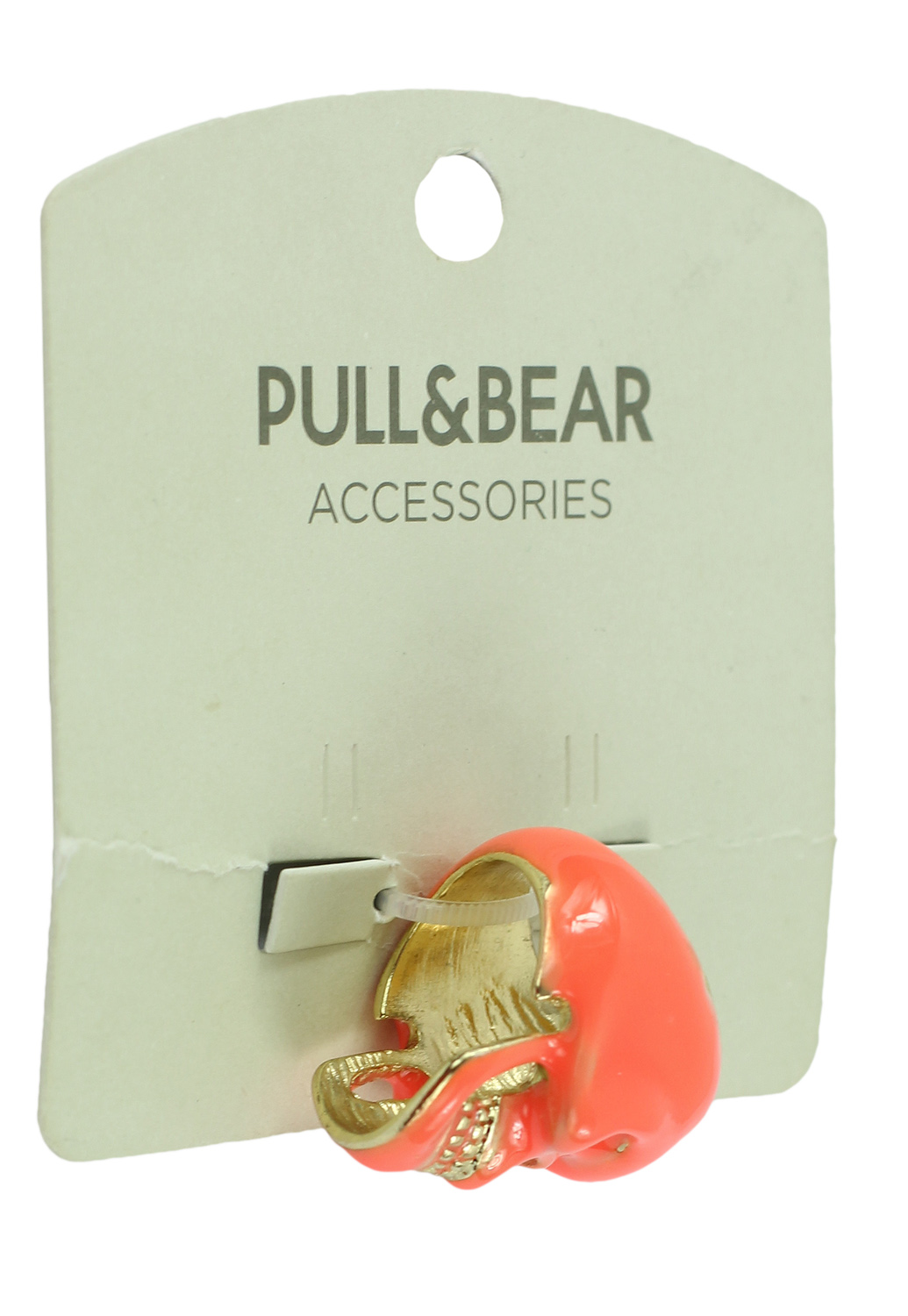 Inel Pull and Bear Skull Pink