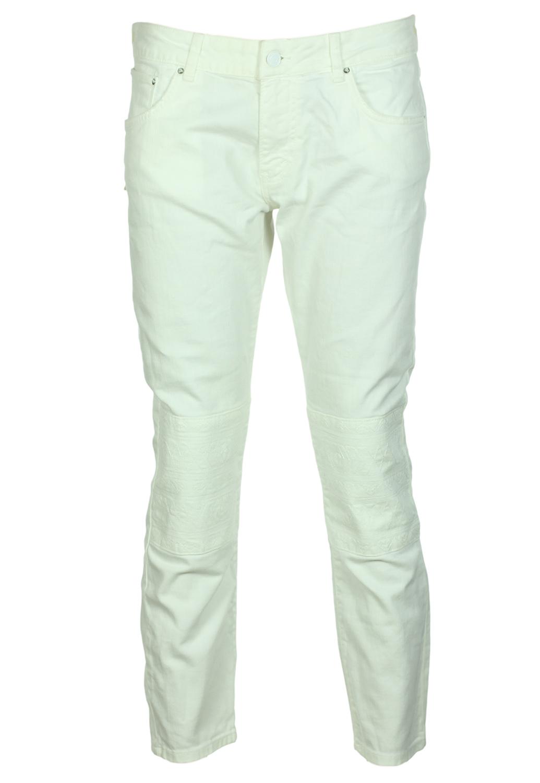 Pantaloni Zara Flies White