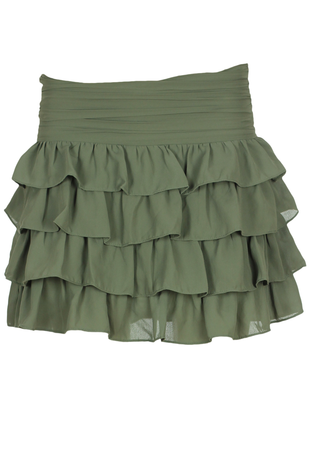 Fusta Pimkie Simple Dark Green