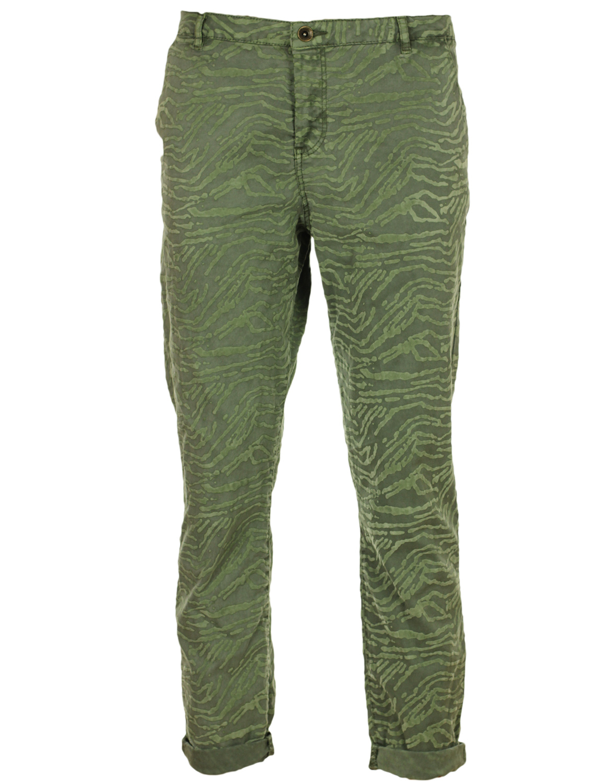 Pantaloni ZARA Marter Dark Green