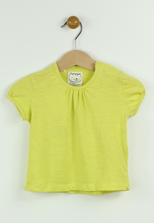 Tricou ZARA Unia Yellow