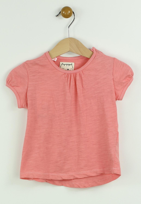 Tricou ZARA Heigh Pink