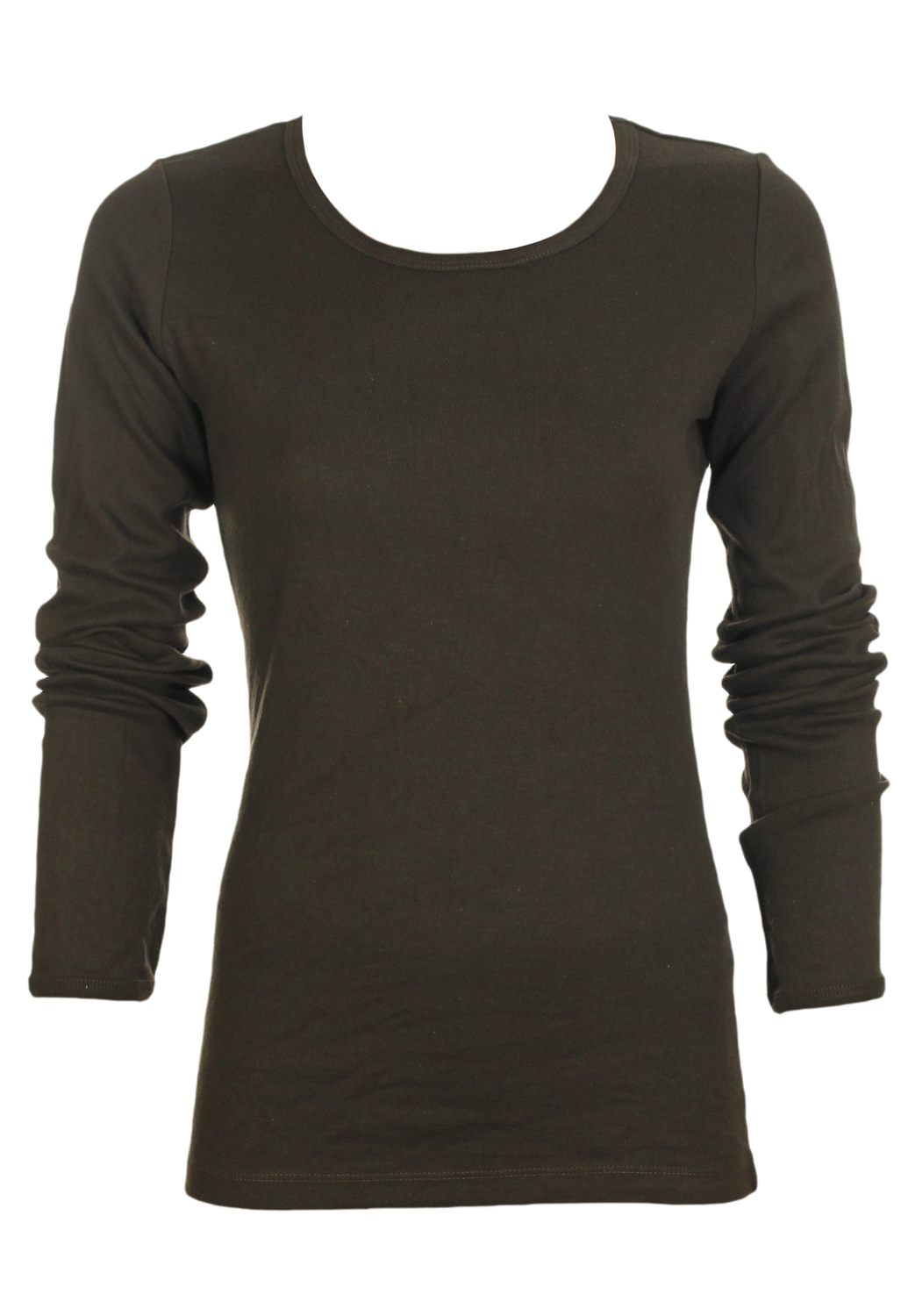 Bluza Tally Weijl Rolls Dark Brown