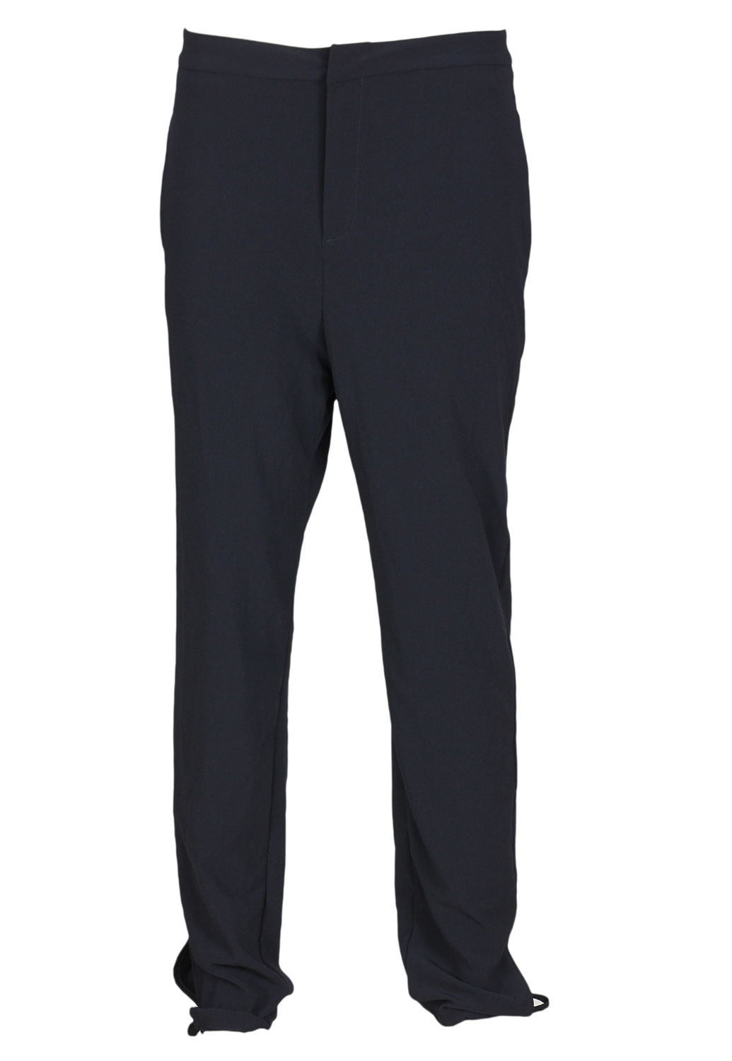 Pantaloni de stofa ZARA Flies Dark Blue