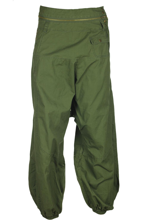 Pantaloni Desigual Mathilda Dark Green