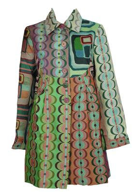 Pardesiu Desigual Mayno Colors | Kurtmann.ro