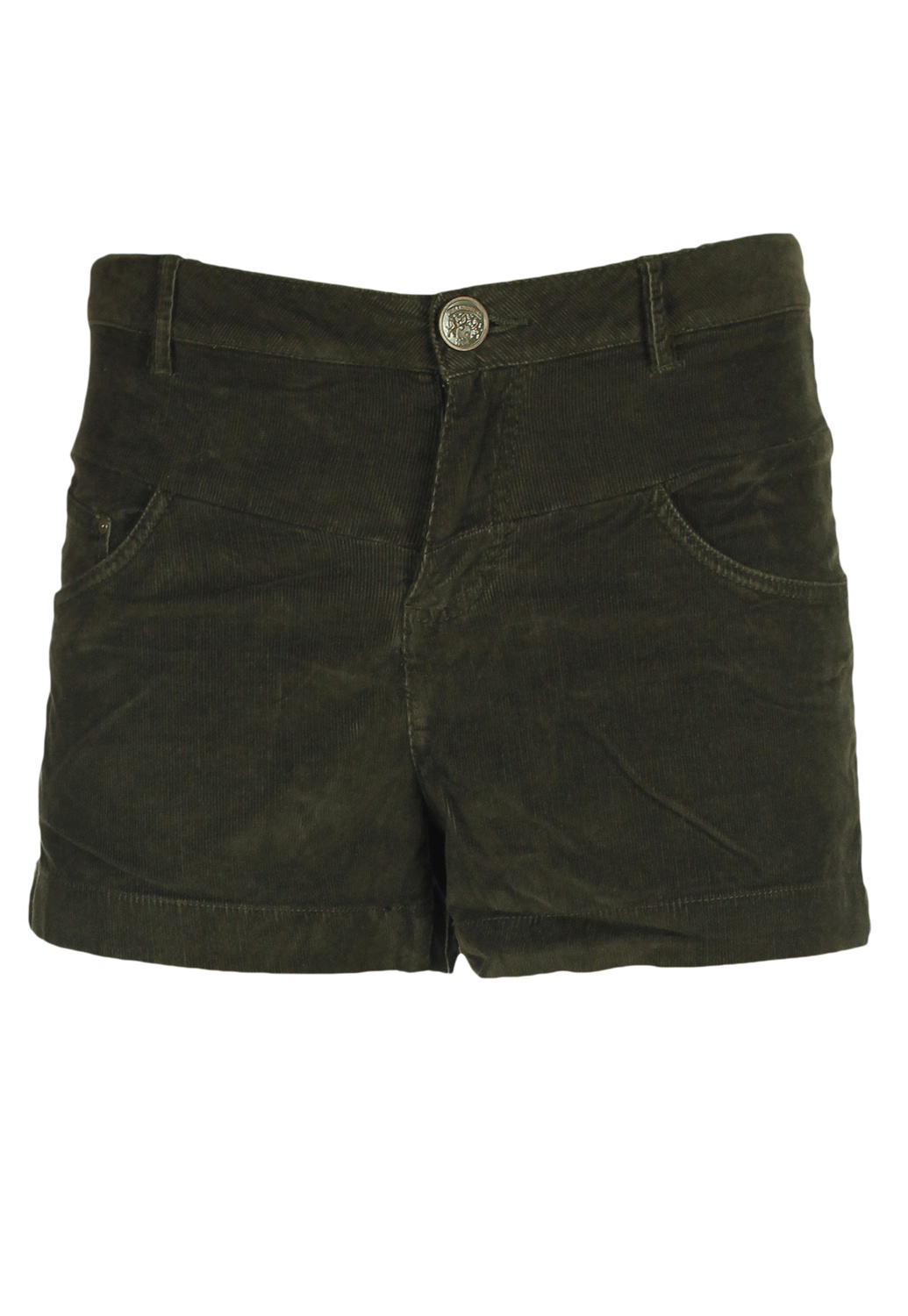 Pantaloni Scurti Pull And Bear Simette Dark Brown