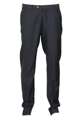 Pantaloni de stofa Massimo Dutti Margot Dark Blue   Kurtmann.ro