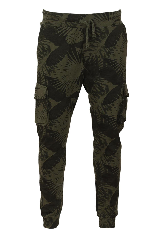 Pantaloni sport Bershka Ladune Dark Green