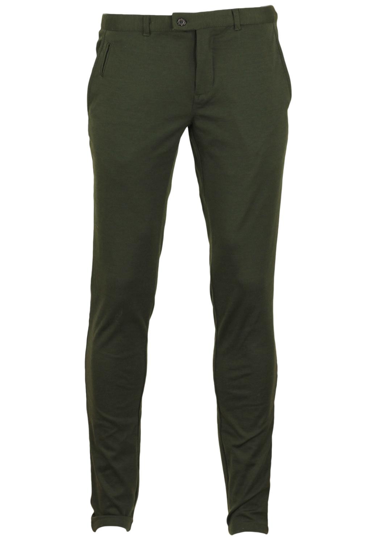 Pantaloni ZARA Tela Dark Green