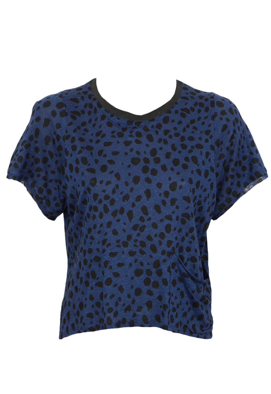 Tricou ZARA Ophta Dark Blue
