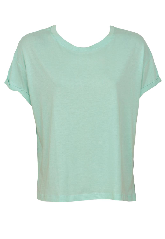Tricou ZARA Simple Light Blue