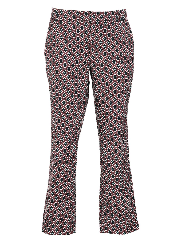 Pantaloni ZARA Filter Dark Red