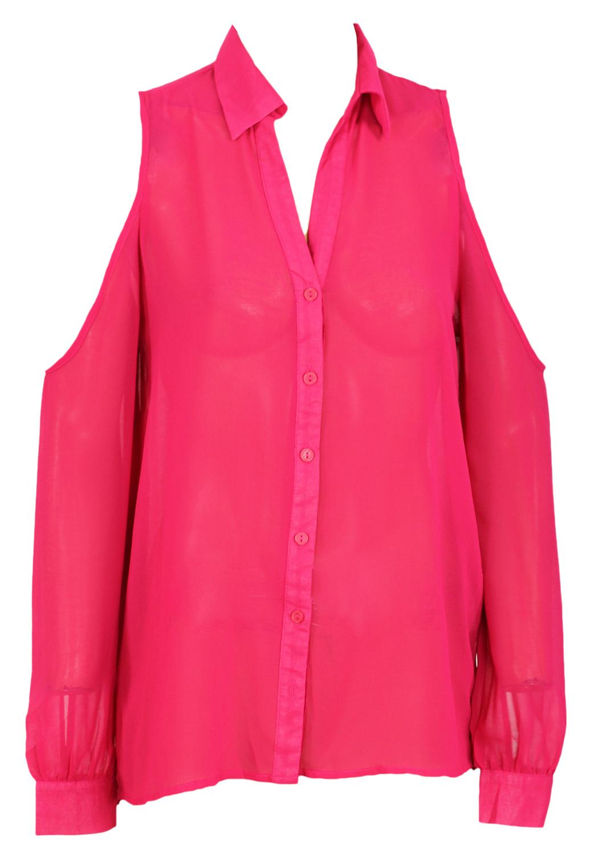 Camasa Alcott Agatha Dark Pink