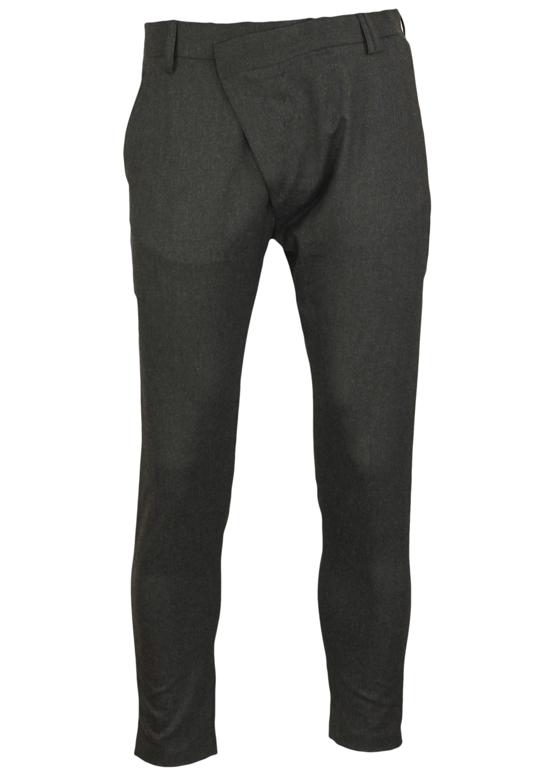 Pantaloni de stofa ZARA Ladune Dark Grey