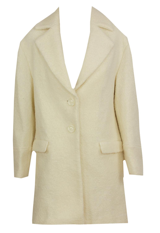 Palton Pimkie Tela White