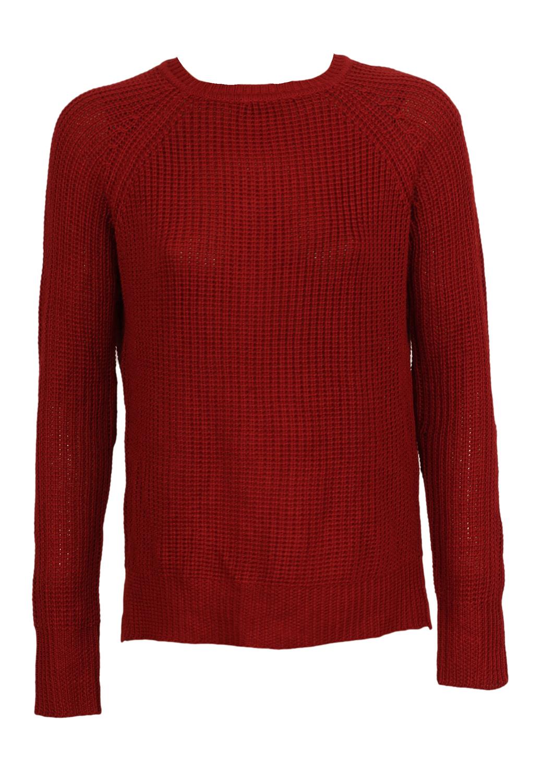 Pulover ZARA Simette Dark Red
