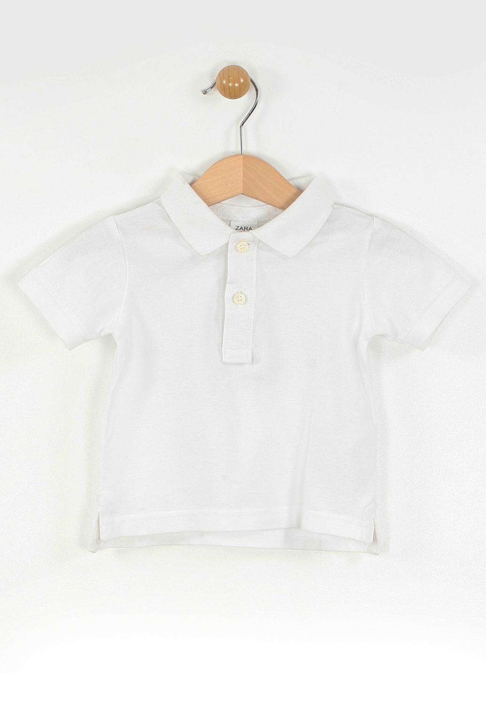 Tricou Polo ZARA Simple White