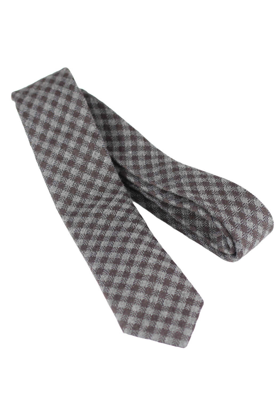 Cravata ZARA Colle Brown
