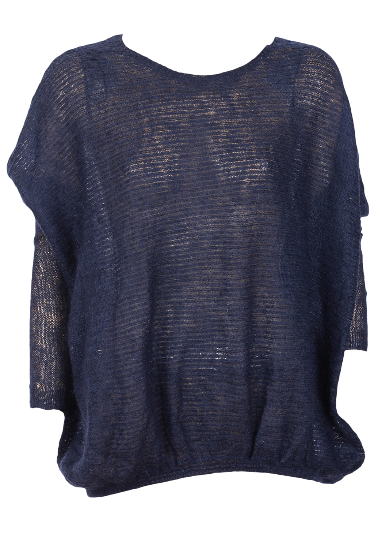 Pulover ZARA Basic Dark Blue