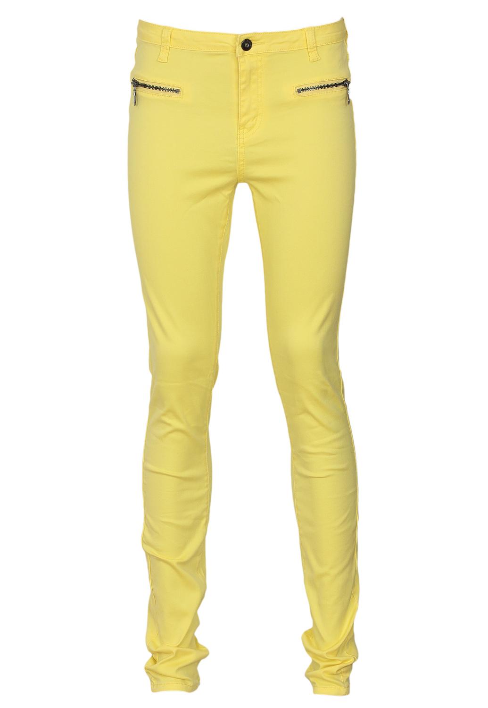 Pantaloni VILA Filter Yellow