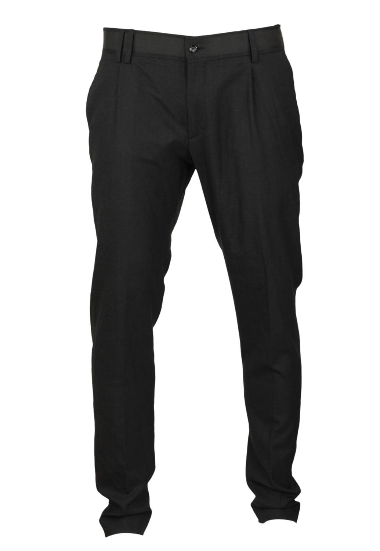 Pantaloni de stofa ZARA Unia Black
