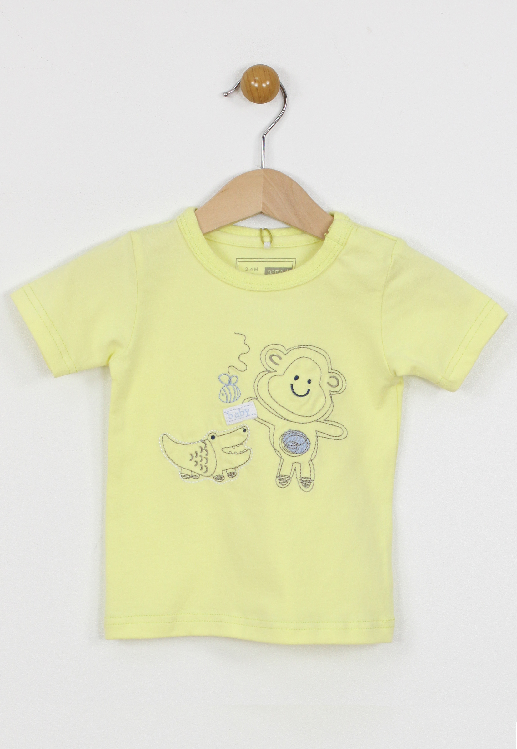 Tricou Name It Collection Yellow