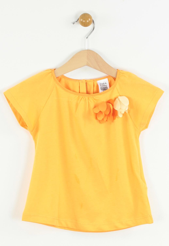 Tricou Zara Tela Orange