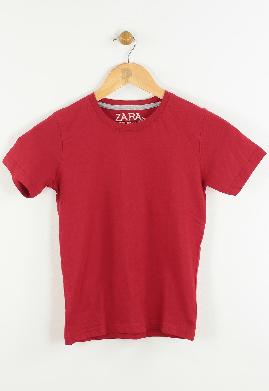 Tricou ZARA Fahne Red
