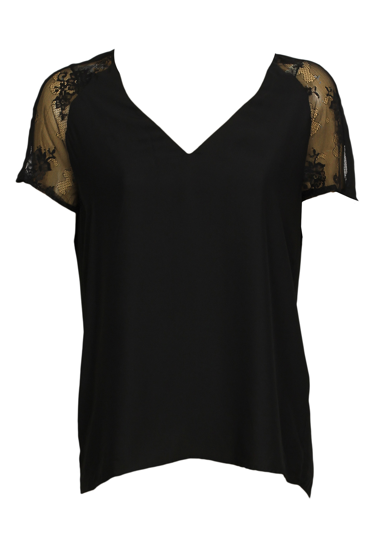 Tricou ZARA Ladune Black
