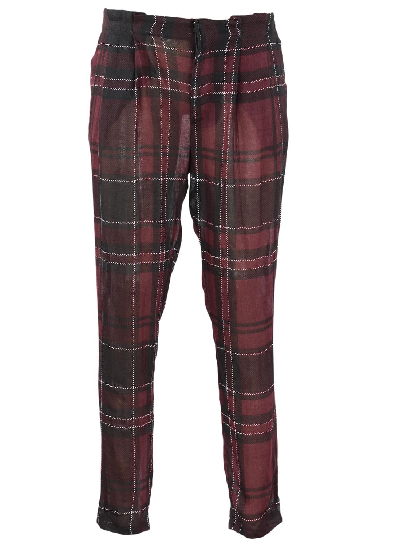 Pantaloni ZARA Jaimer Dark Red