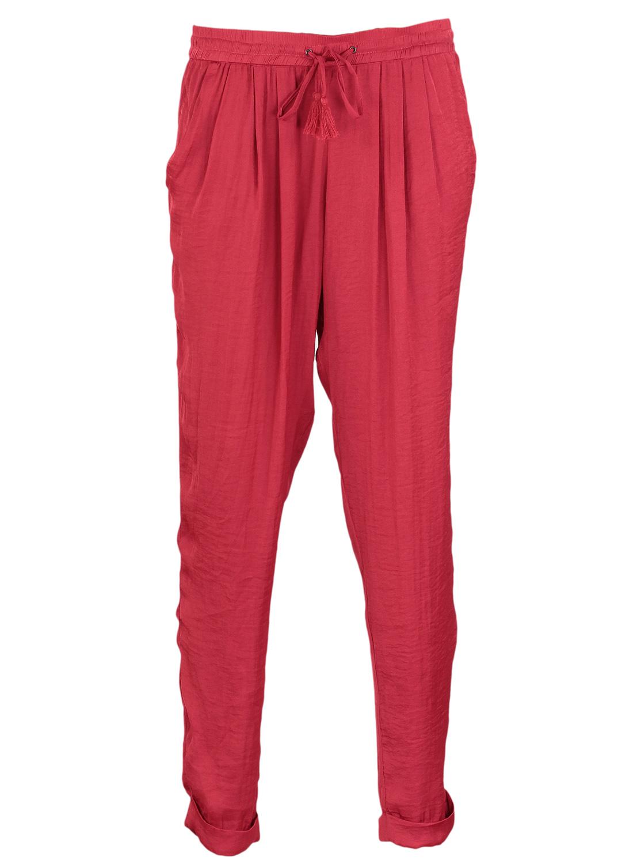 Pantaloni ZARA Simple Dark Red