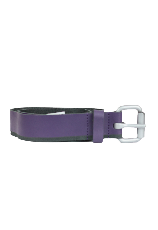 Curea piele Pull and Bear Simpo Purple