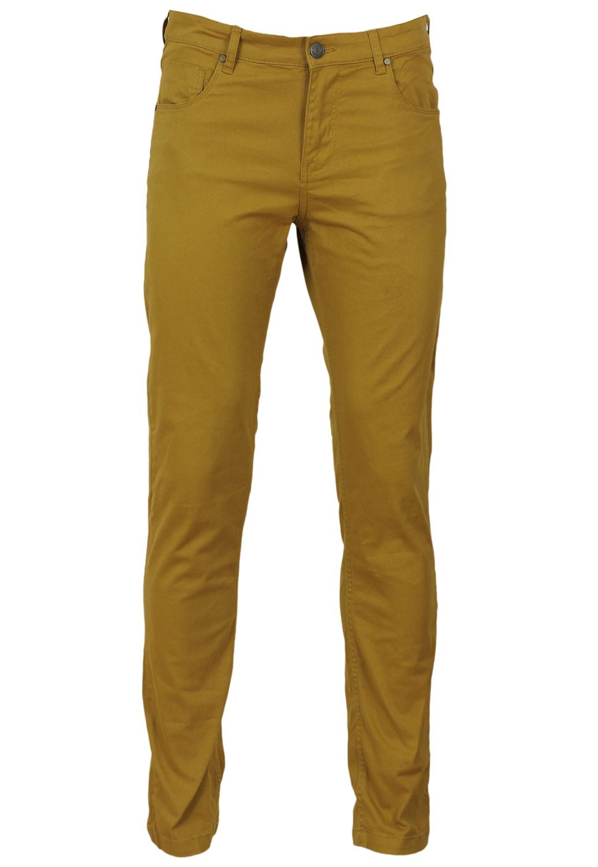 Pantaloni Bershka Ophta Dark Yellow