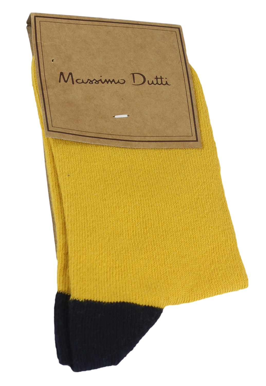 Sosete Massimo Dutti Margot Yellow