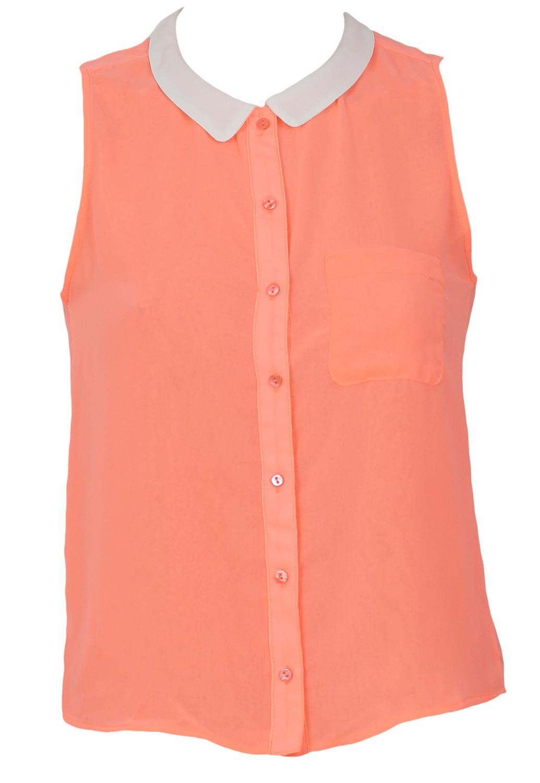 Camasa Bershka Gatles Orange